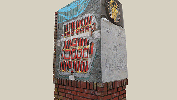 Niederösterreich 3D - Bad Deutsch-Altenburg - Gedenkstein Legionslager